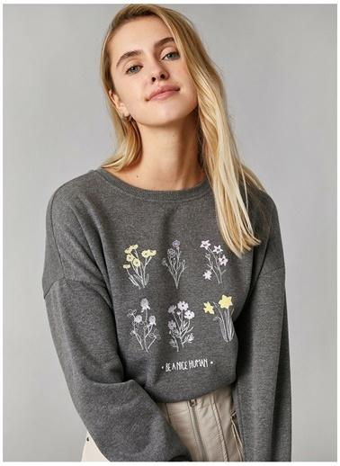 Koton Sweatshirt Antrasit
